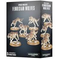 Warhammer 40K - Space Wolves - Fenrisian Wolves