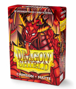 Japanese Dragon Shield Matte Crimson 60's