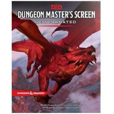 DnD Dungeon Master Screen Reincarnated