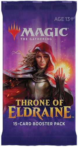1 MTG Throne of Eldraine Booster