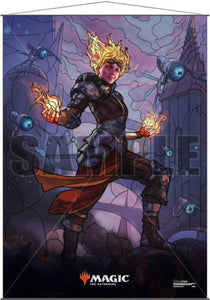 UP - Chandra Stained glass wall scroll