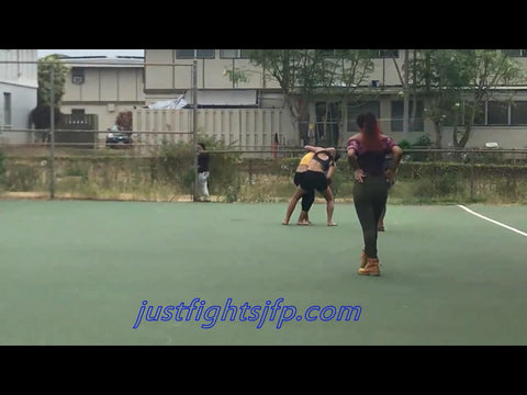 Fight at the tennis courts (JFP 18015)