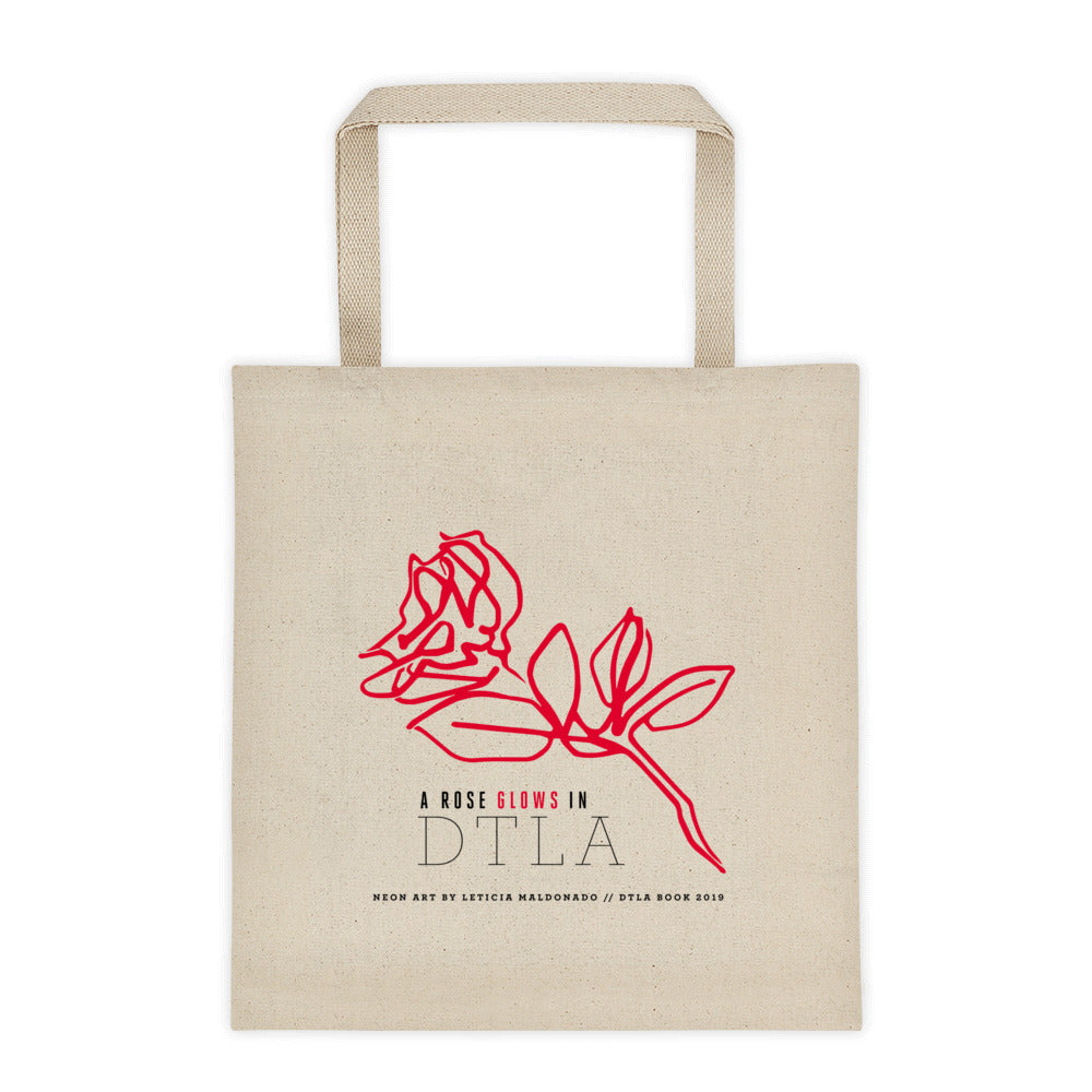 DTLA Red Rose Tote by Leticia Maldonado
