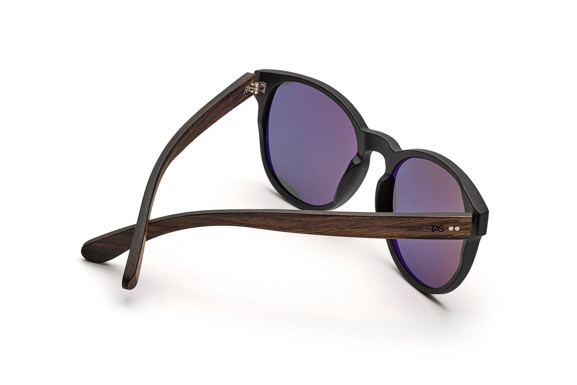 Holz-Sonnenbrille The King Of Hearts Unisex