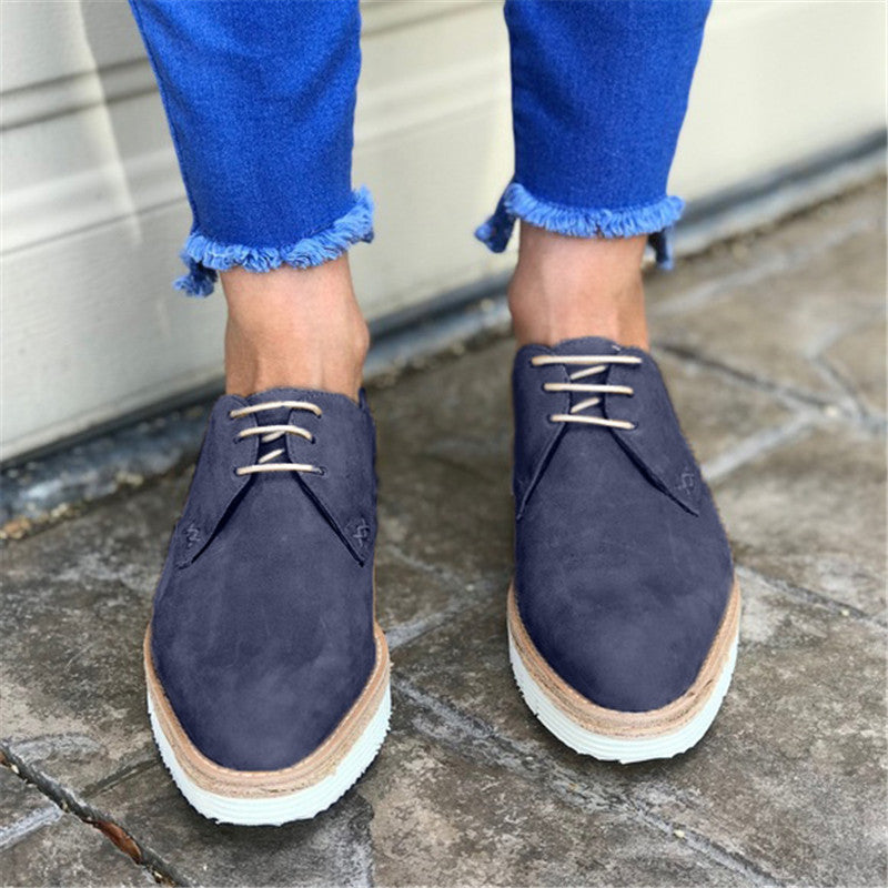 Women Casual Comfy Daily Oxford Loafers