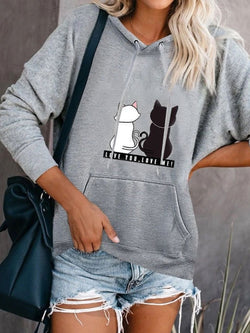Hoodie Casual Plus Size Long Sleeve Tops