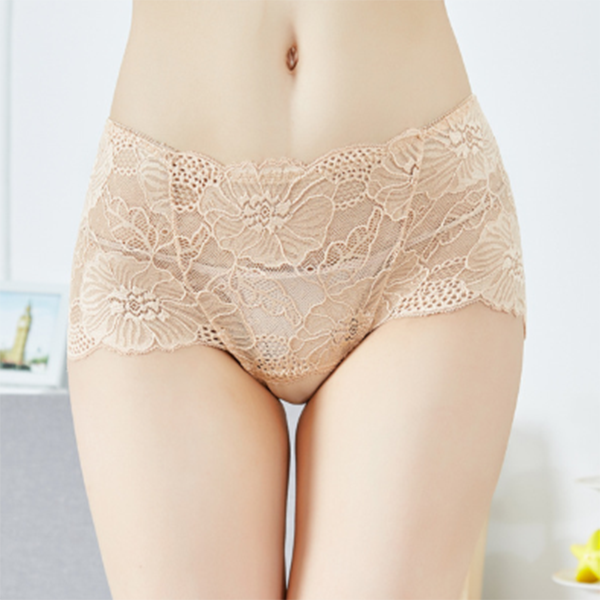 Full Hip High Waist Lace panties L XL