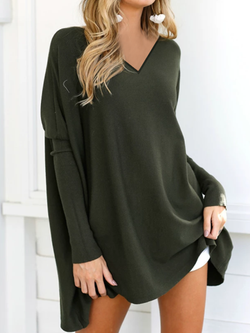 Long Sleeve Casual Solid Shirts Blouses