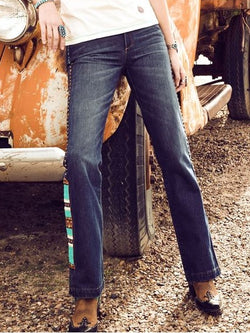 Blue Vintage Denim Pants
