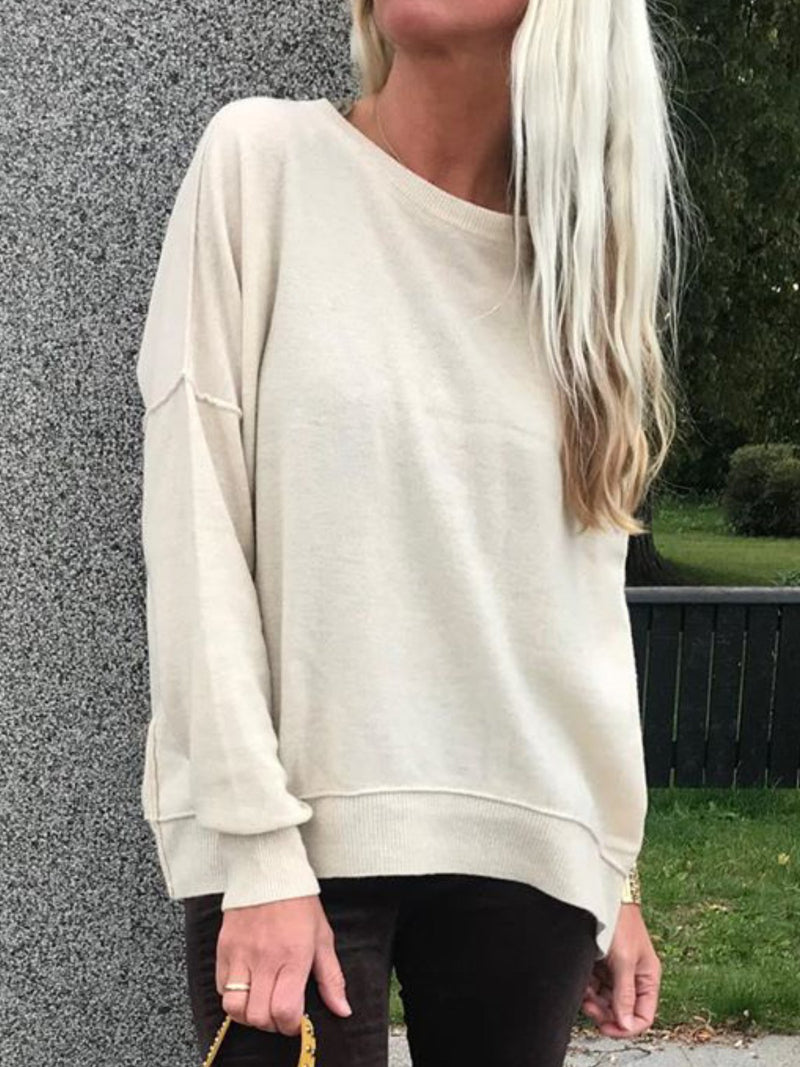 Women Casual Plus Size Tops Tunic Pullover Sweater