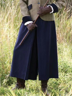 British Style Vintage Wide Leg Pants