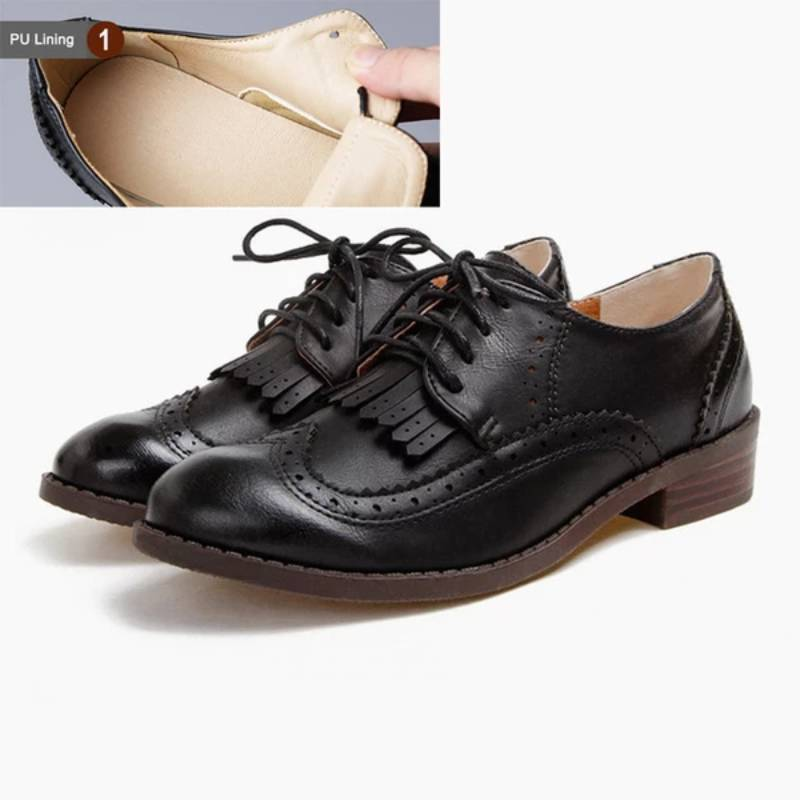 Women's Lace-Up Street Style Oxfords Shoes
