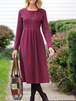 Casual elegant long sleeve dress