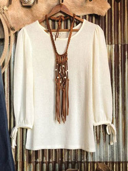 Casual Thin Long Sleeve Sweater