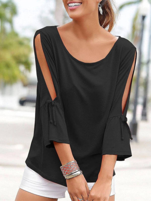 Casual Plain Shirts & Tops