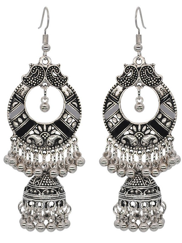 Bohemian Vintage Fringed Alloy Women Earrings