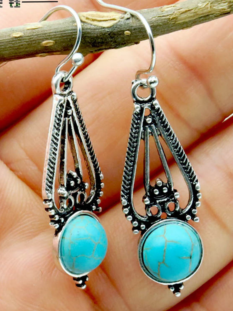 Sliver Vintage Alloy Earrings