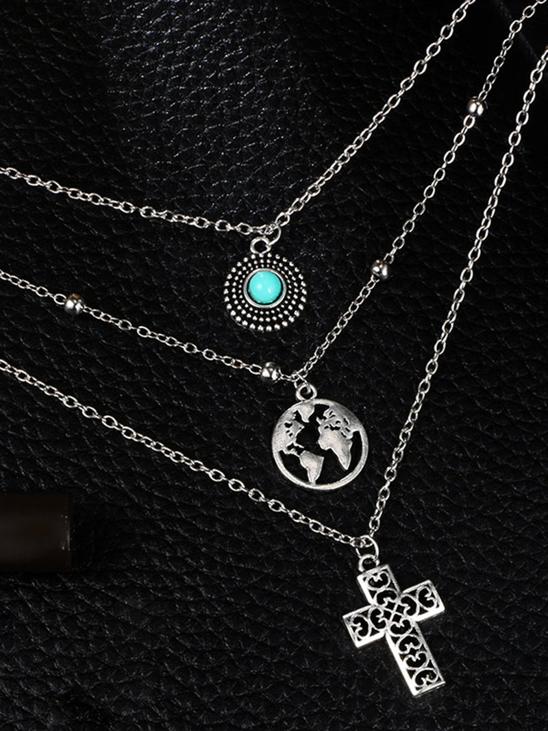 Silver Sexy Alloy Necklaces
