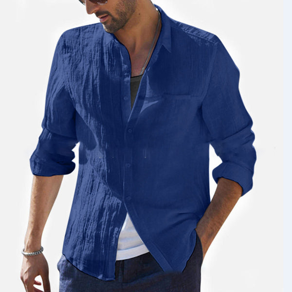 Lapel Casual Shirts & Tops