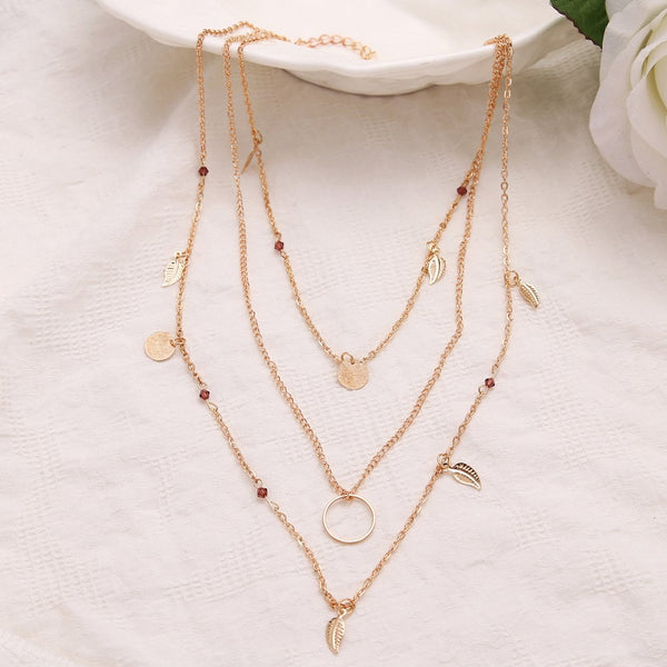 Alloy Casual Necklaces