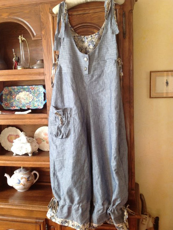 Casual Jeans Plus Size Jumpsuits With Pockets Overalls