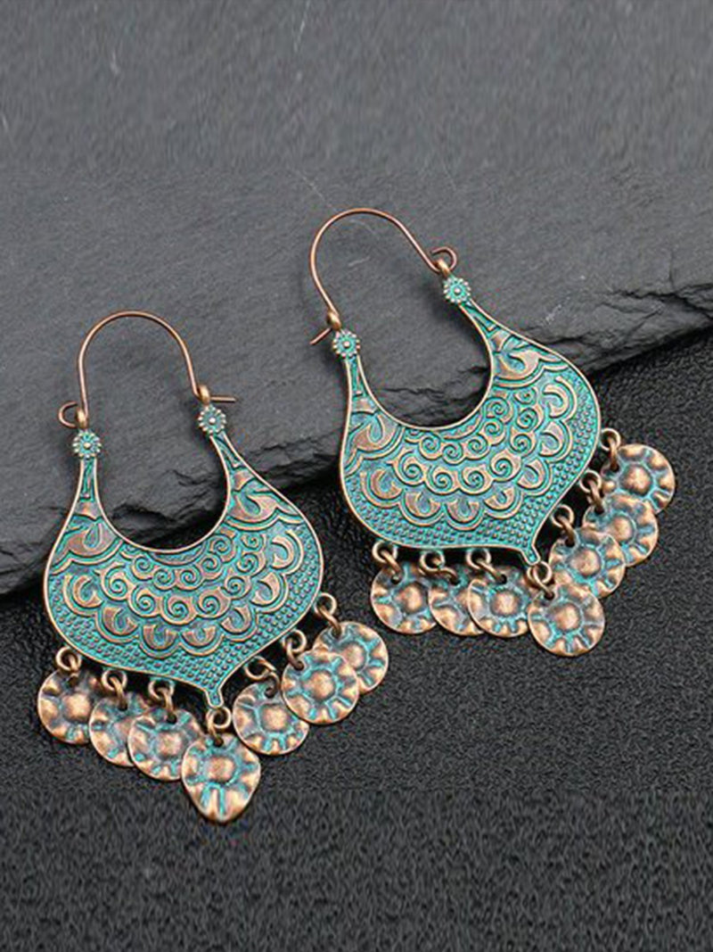 Sliver Alloy Vintage Earrings