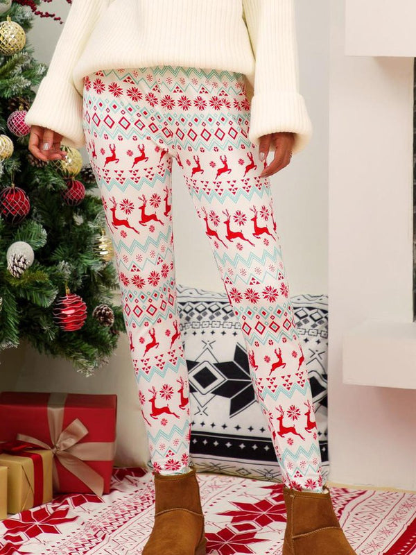 Christmas Cotton-Blend Pants