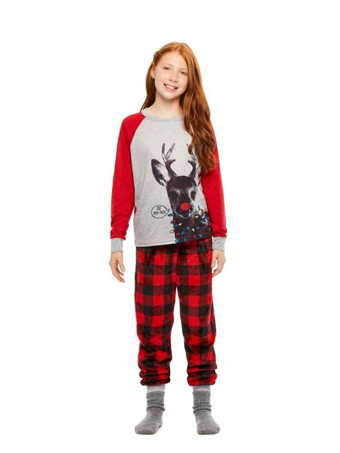 Christmas As Picture Cotton-Blend Casual Sleepwear & Loungewear