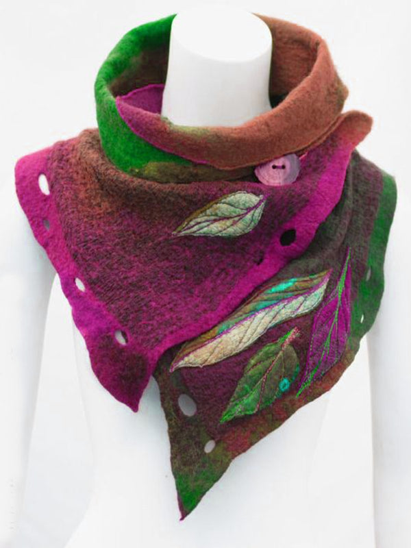 Noracora Color4 Accessories Winter Green Scarf