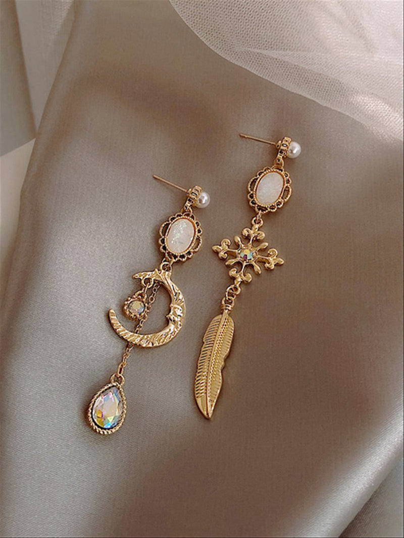 Vintage Casual Basic Daily Earings