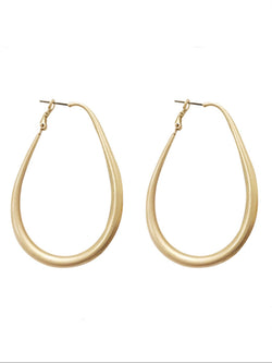 Casual Basic Daily Golden Gentle Classic Earings
