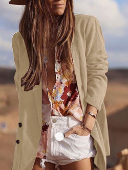 Shift Long Sleeve Casual Outerwear