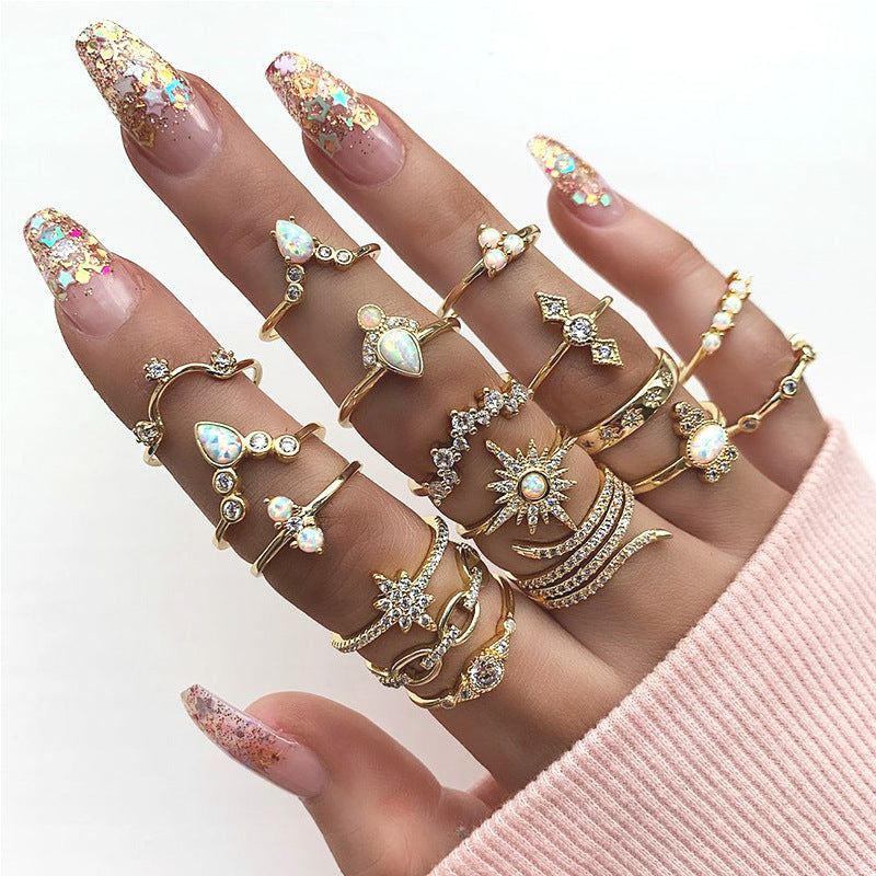 Golden Alloy Rings