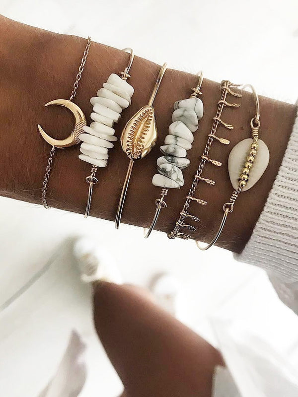 As Picture Sweet Alloy Bracelets