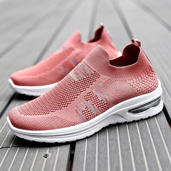 Casual Outdoor Slip on Knitted Sneaker