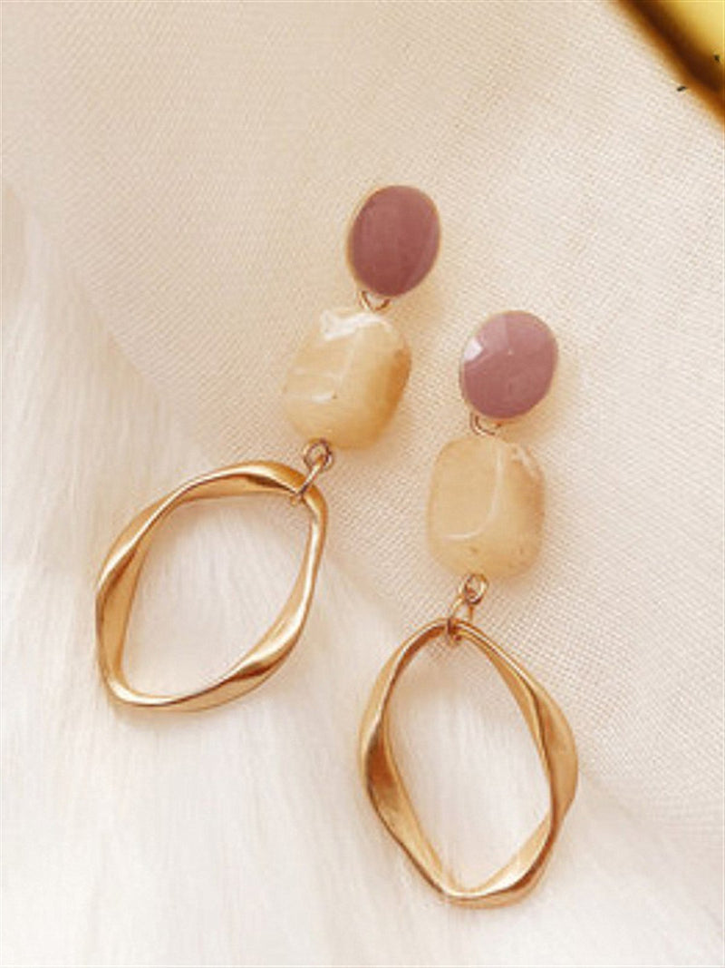 Vintage Casual Basic Daily Classic Earings
