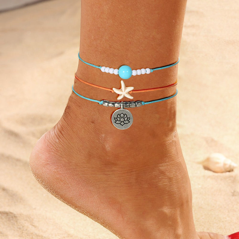 Alloy Anklets