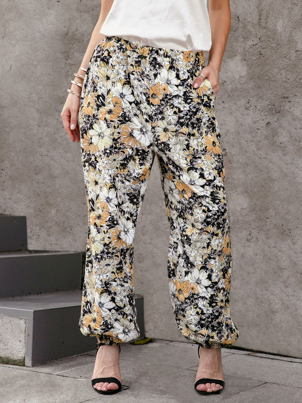 Floral Resort Pants