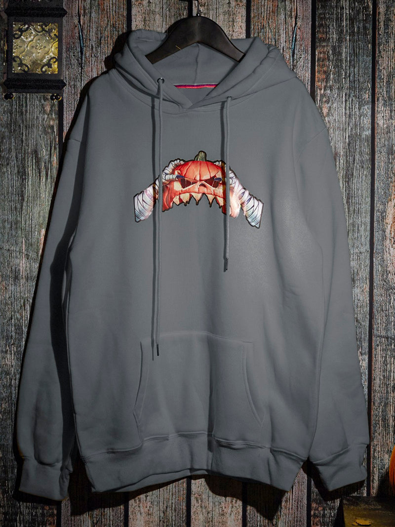 Animal Printed Hoodie Sweatshirt