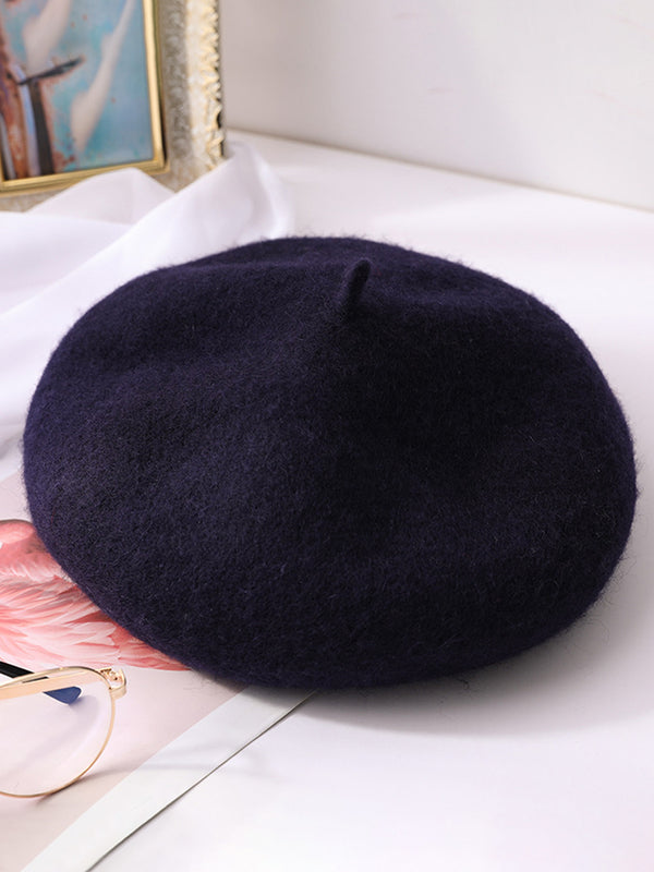 Vintage Winter Warm Wool Berets
