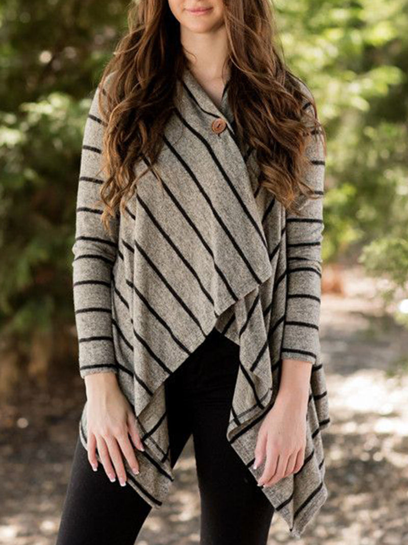 Plus Size Casual Long Sleeve Tops