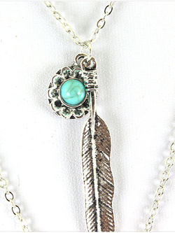 Silver Alloy Vintage Necklaces
