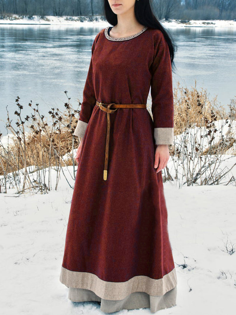 medieval Vintage Cotton Dresses