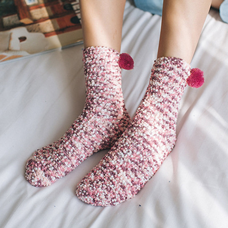 Women Winter Fuzzy Socks