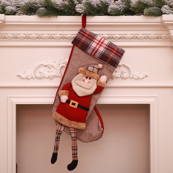 Christmas Decoration Christmas Socks Candy Bag