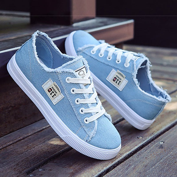 Women Canvas Sneakers Breathable Comfortable Shoes