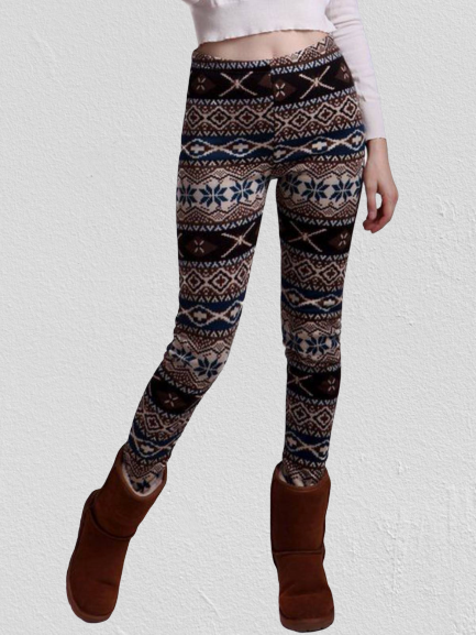 As Picture Tribal Casual Pants