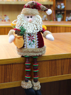 Santa Snowman Deers Doll Window Decoration Christmas Decorations Gift Ornaments