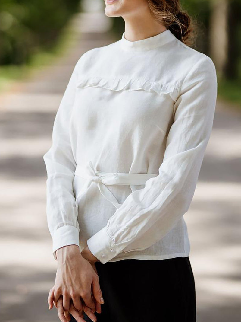 Ruffled panel top