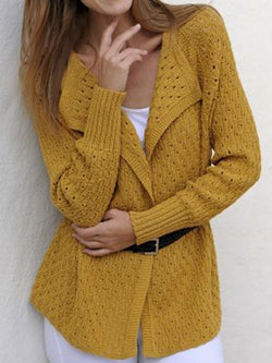 Yellow Vintage Cotton-Blend Outerwear